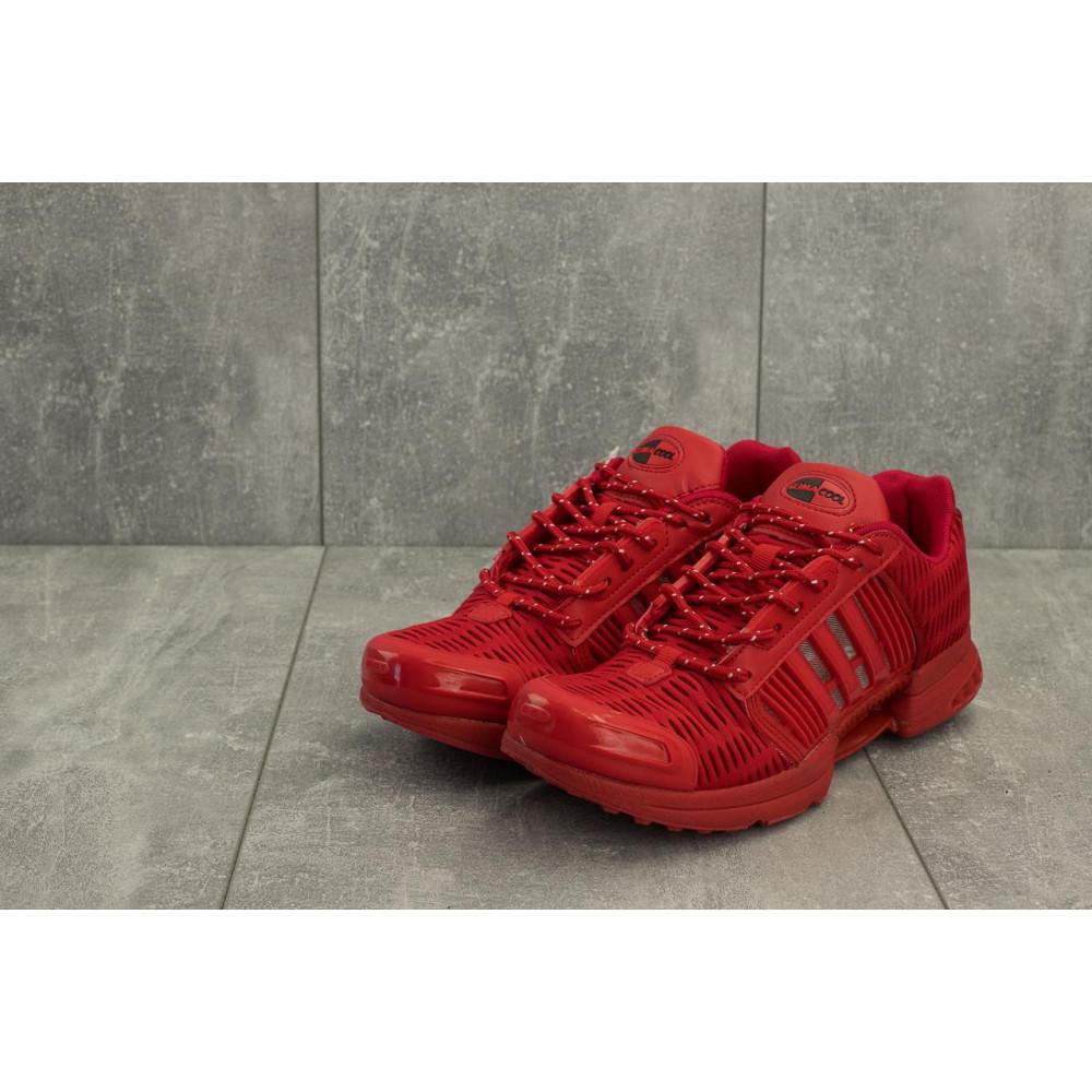 Демисезонные кроссовки мужские   - Мужские кроссовки текстильные весна/осень красные Ditof A 1094 -6 4