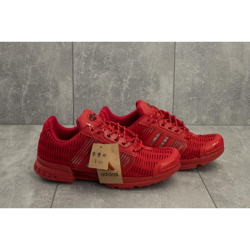 Демисезонные кроссовки мужские   - Мужские кроссовки текстильные весна/осень красные Ditof A 1094 -6 3