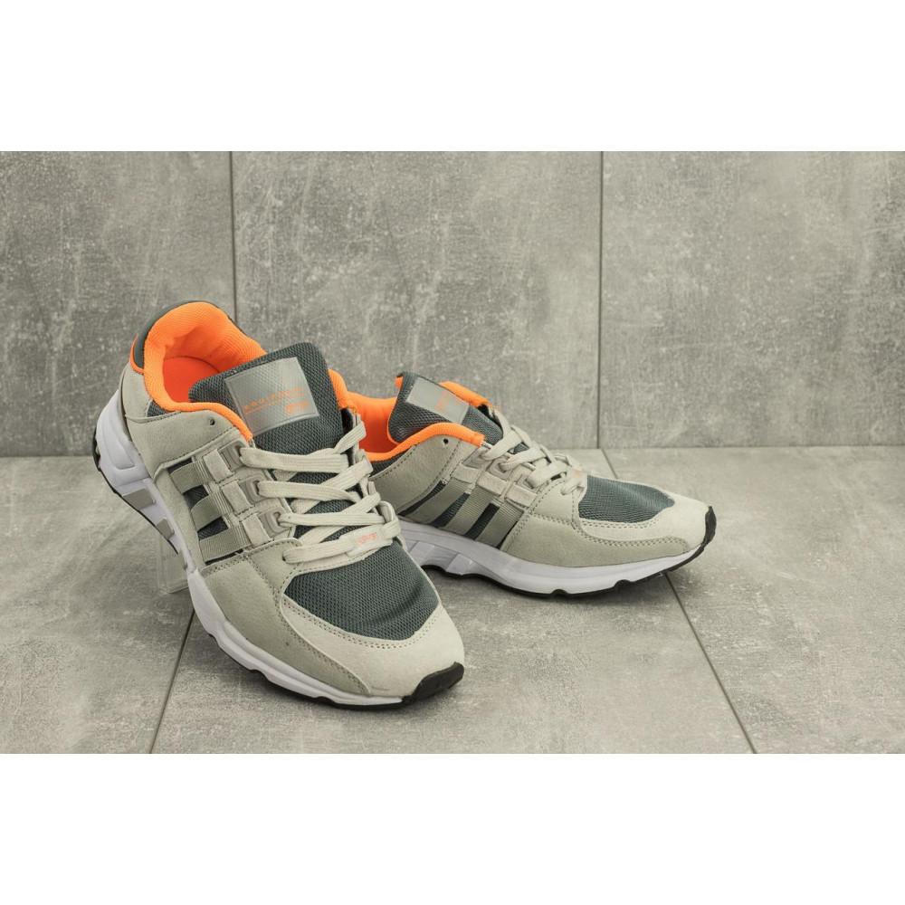 Классические кроссовки мужские - Мужские кроссовки искусственная замша весна/осень серые Ditof A 177 -21
