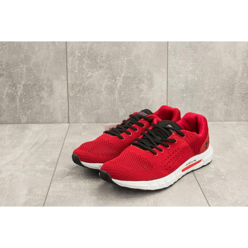Демисезонные кроссовки мужские   - Мужские кроссовки текстильные весна/осень красные Ditof A 1076 -9 4