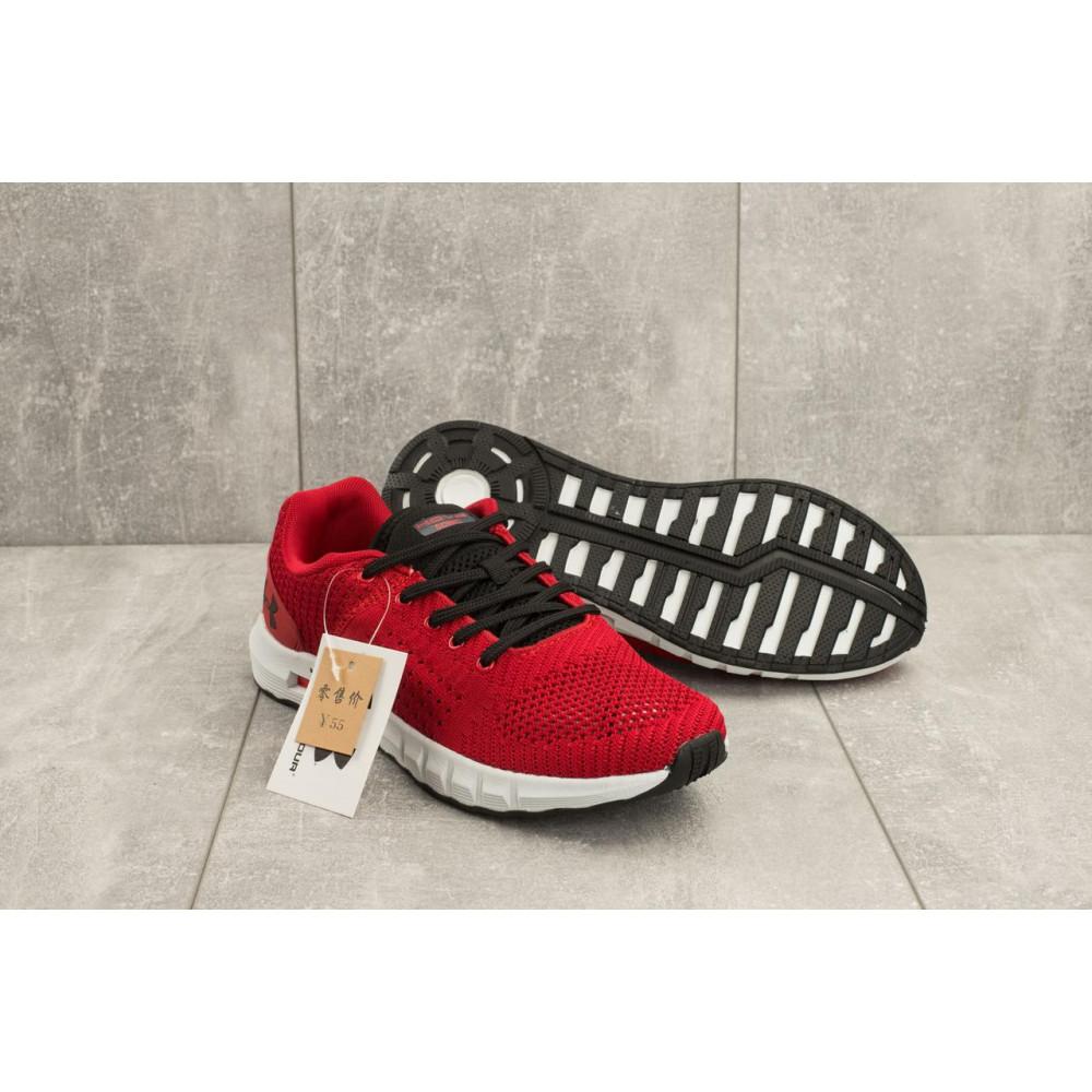 Демисезонные кроссовки мужские   - Мужские кроссовки текстильные весна/осень красные Ditof A 1076 -9 1