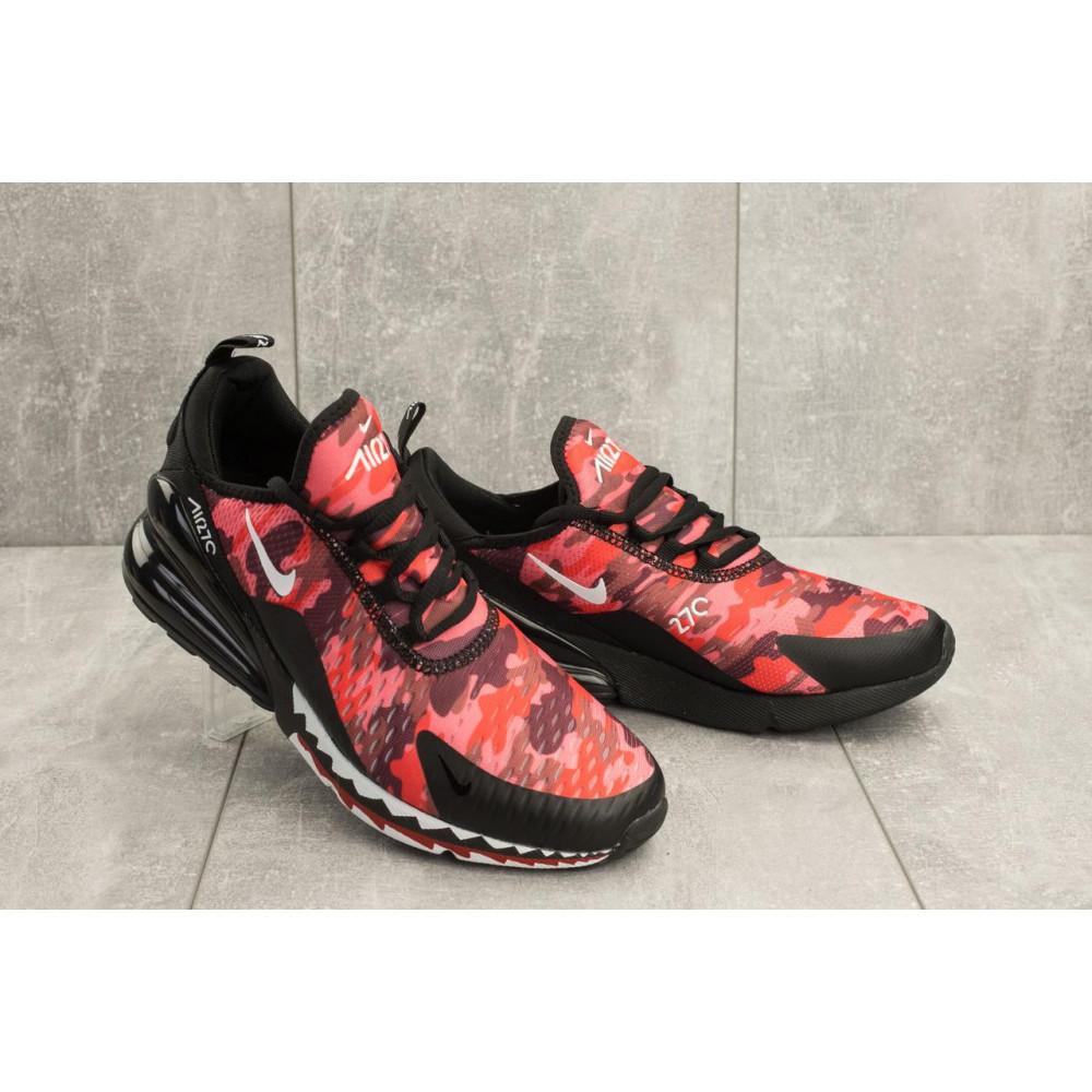 Демисезонные кроссовки мужские   - Мужские кроссовки текстильные весна/осень красные-черные Baas А 358 -51