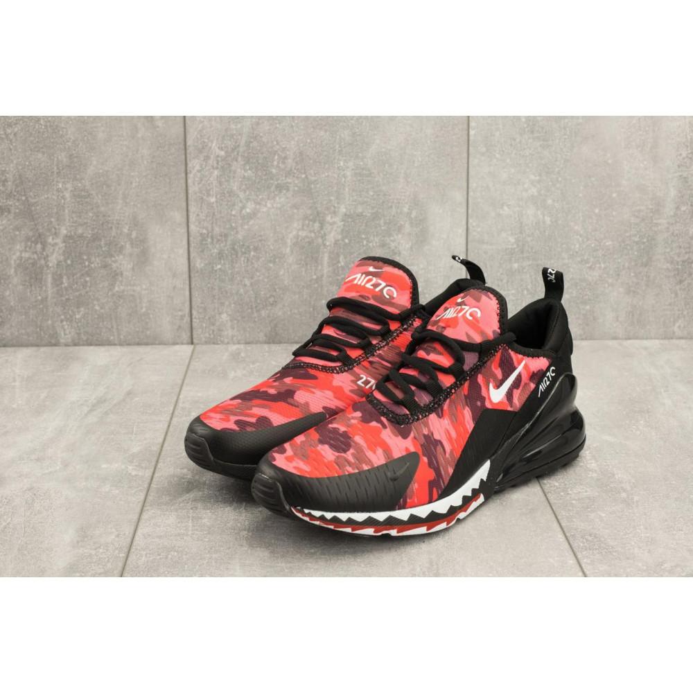 Демисезонные кроссовки мужские   - Мужские кроссовки текстильные весна/осень красные-черные Baas А 358 -51 3