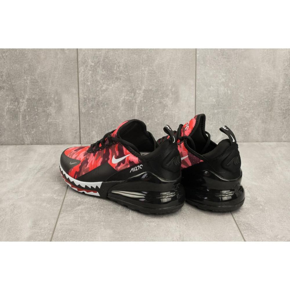 Демисезонные кроссовки мужские   - Мужские кроссовки текстильные весна/осень красные-черные Baas А 358 -51 2