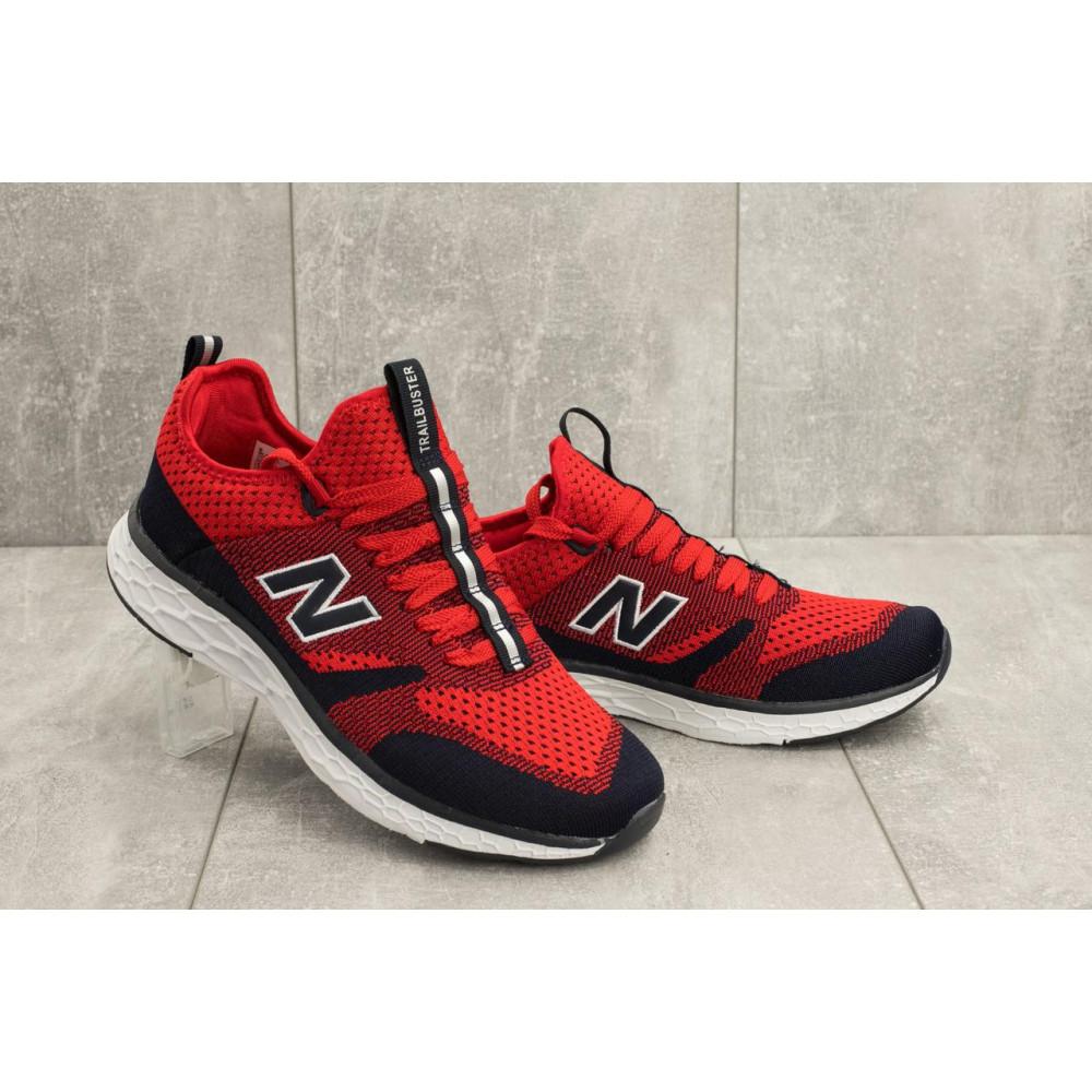 Демисезонные кроссовки мужские   - Мужские кроссовки текстильные весна/осень красные Baas А 181 -8