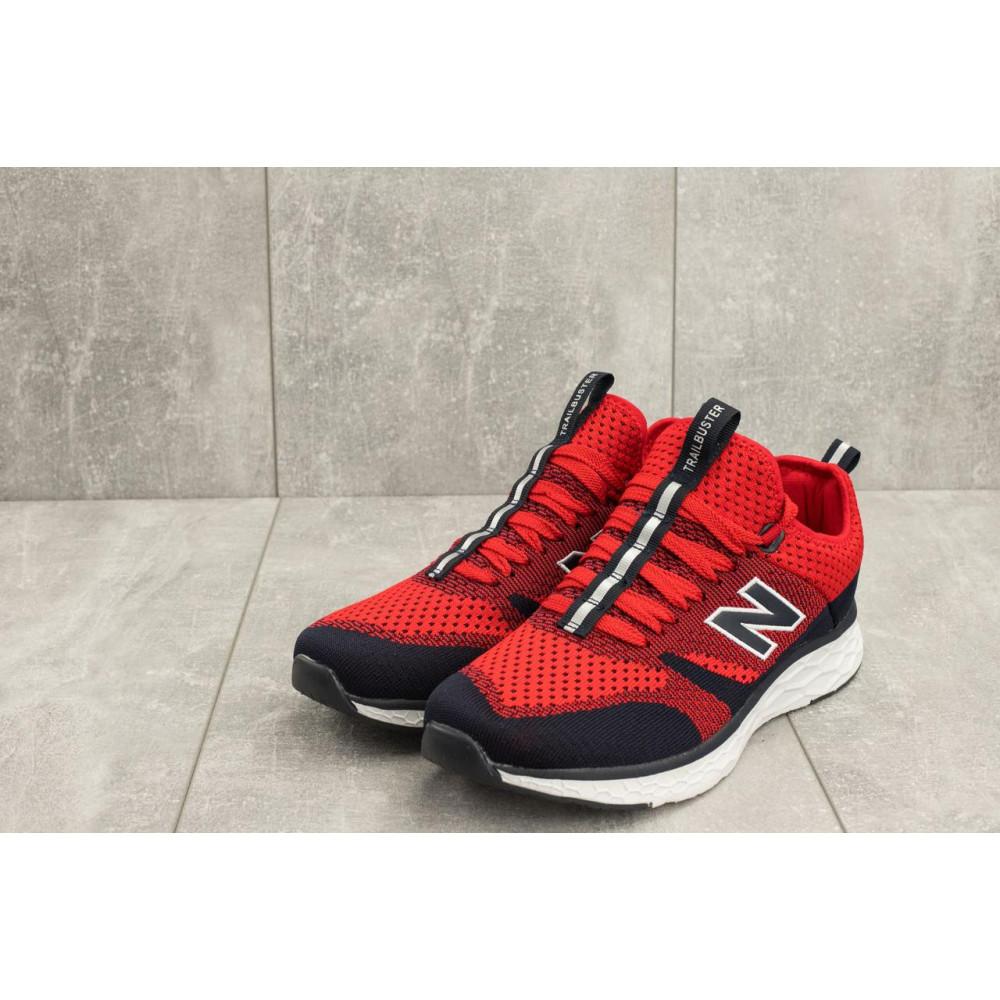 Демисезонные кроссовки мужские   - Мужские кроссовки текстильные весна/осень красные Baas А 181 -8 3