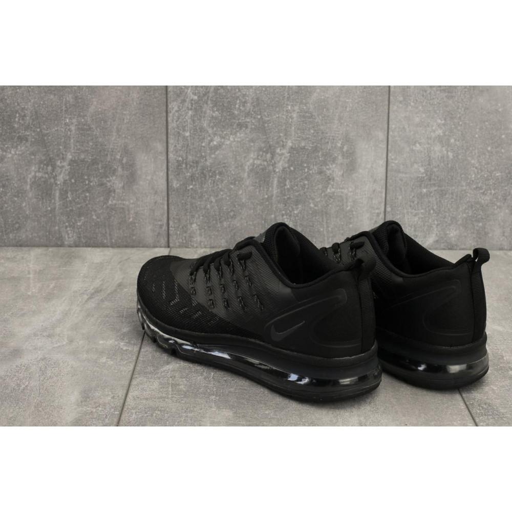 Демисезонные кроссовки мужские   - Мужские кроссовки текстильные весна/осень черные Classica G 5102 -6 2