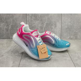 Женские кроссовки текстильные весна/осень голубые-розовые Ditof B 1154 -8