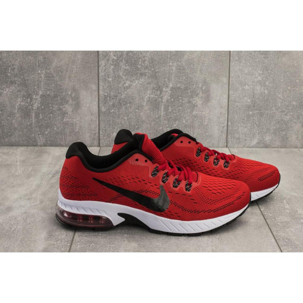 Демисезонные кроссовки мужские   - Мужские кроссовки текстильные весна/осень красные Classica G 5117 -1 3