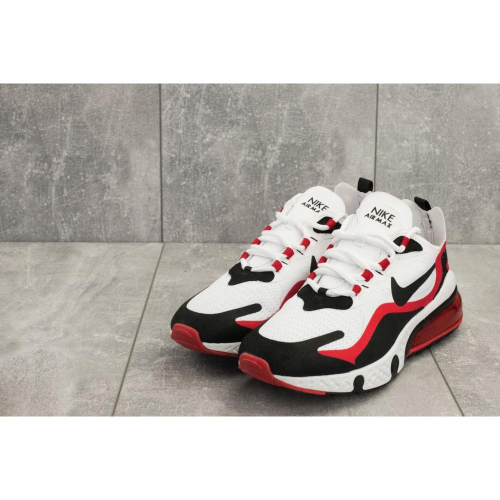 Демисезонные кроссовки мужские   - Мужские кроссовки текстильные весна/осень белые-красные Baas A 490 -4 3