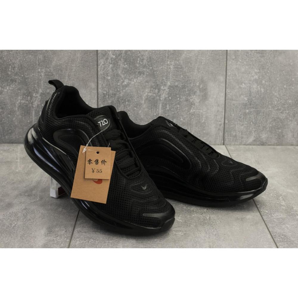 Демисезонные кроссовки мужские   - Мужские кроссовки текстильные весна/осень черные Ditof A 1125 -1