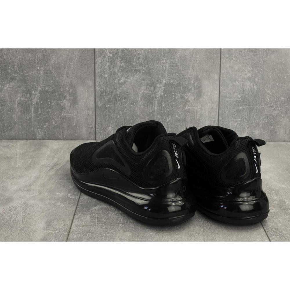 Демисезонные кроссовки мужские   - Мужские кроссовки текстильные весна/осень черные Ditof A 1125 -1 2
