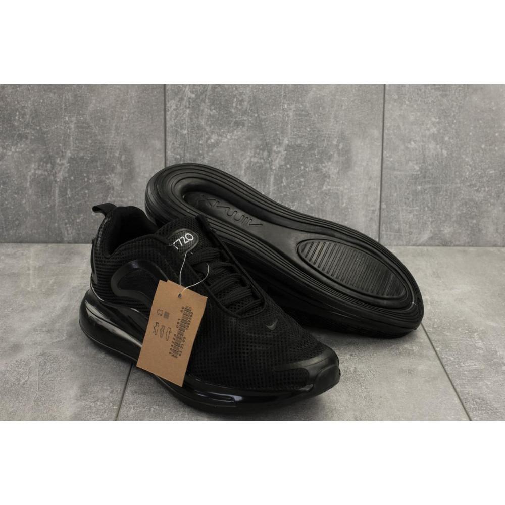 Демисезонные кроссовки мужские   - Мужские кроссовки текстильные весна/осень черные Ditof A 1125 -1 1