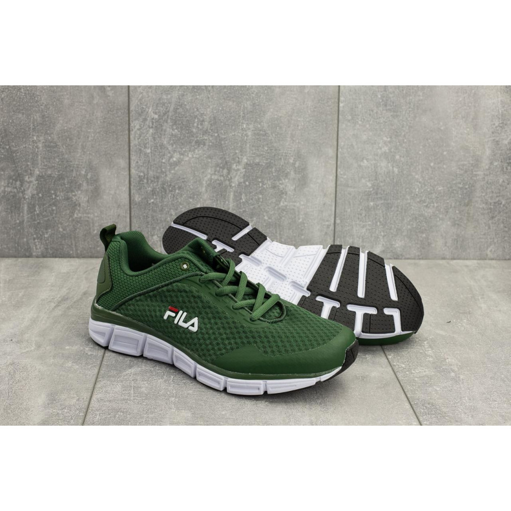 Летние кроссовки мужские - Мужские кроссовки текстильные летние зеленые Classica G 5104 -2 1