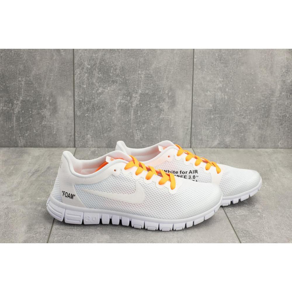 Летние кроссовки мужские - Мужские кроссовки текстильные летние белые Classica G 5122 -1 4