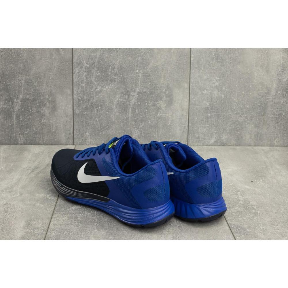Беговые кроссовки мужские  - Мужские кроссовки текстильные весна/осень синие-черные Baas A 404 -3 3