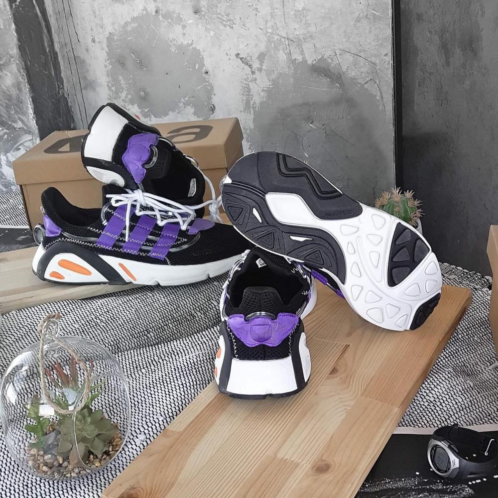Летние кроссовки мужские - Мужские летние кроссовки Adidas Yeezy 600 Lexicon Black Blue 4