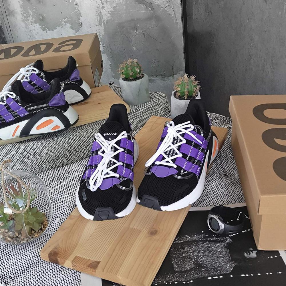Летние кроссовки мужские - Мужские летние кроссовки Adidas Yeezy 600 Lexicon Black Blue 1