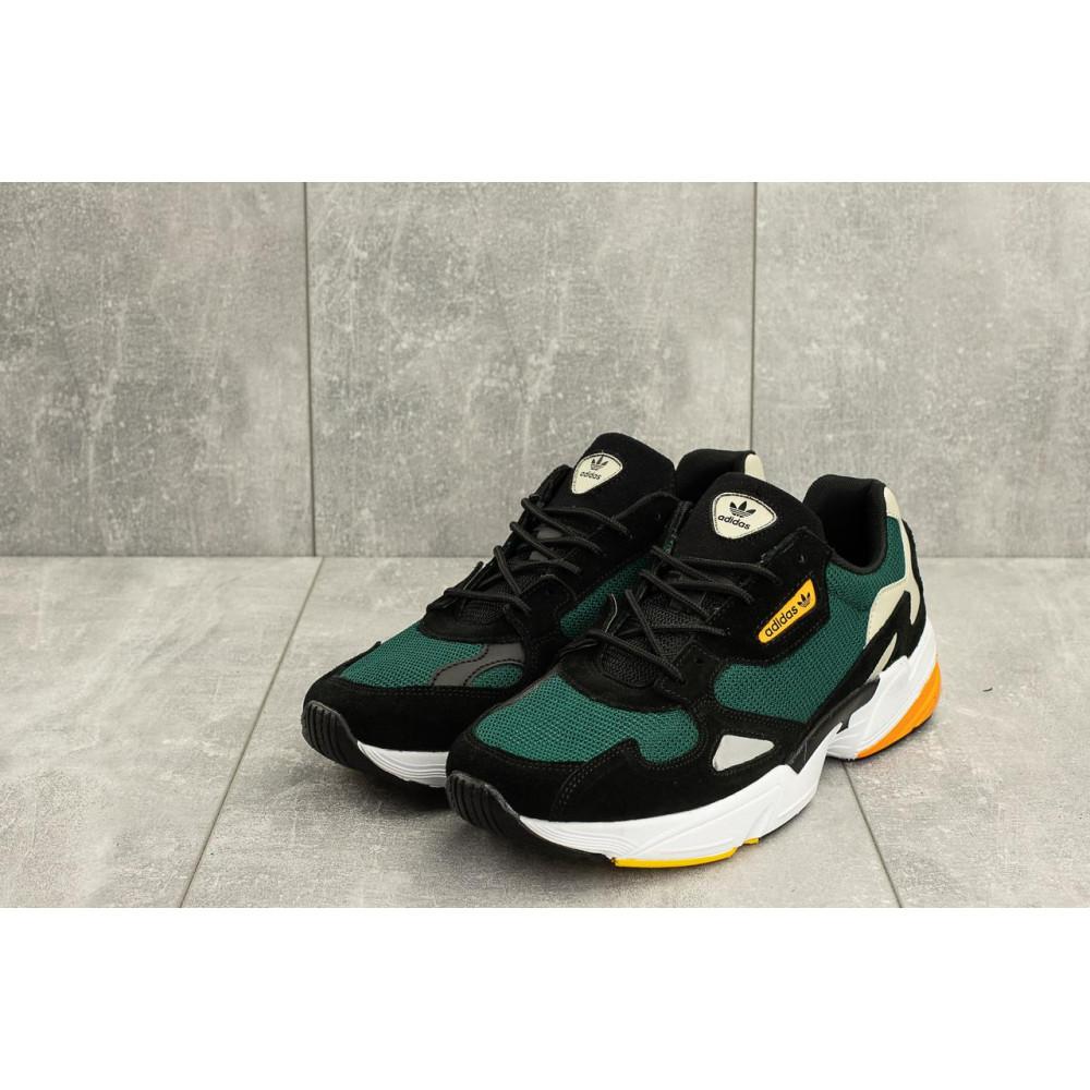 Демисезонные кроссовки мужские   - Мужские кроссовки текстильные весна/осень зеленые Classica G 5101 -3 4