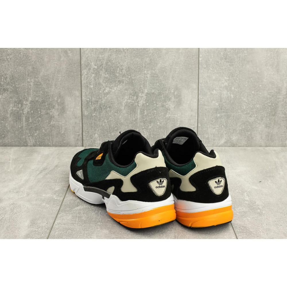 Демисезонные кроссовки мужские   - Мужские кроссовки текстильные весна/осень зеленые Classica G 5101 -3 2