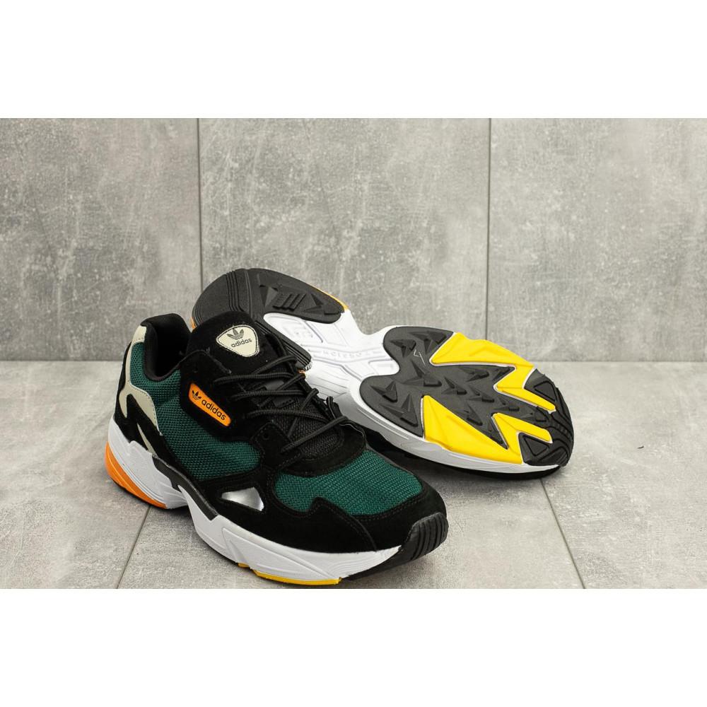 Демисезонные кроссовки мужские   - Мужские кроссовки текстильные весна/осень зеленые Classica G 5101 -3 1