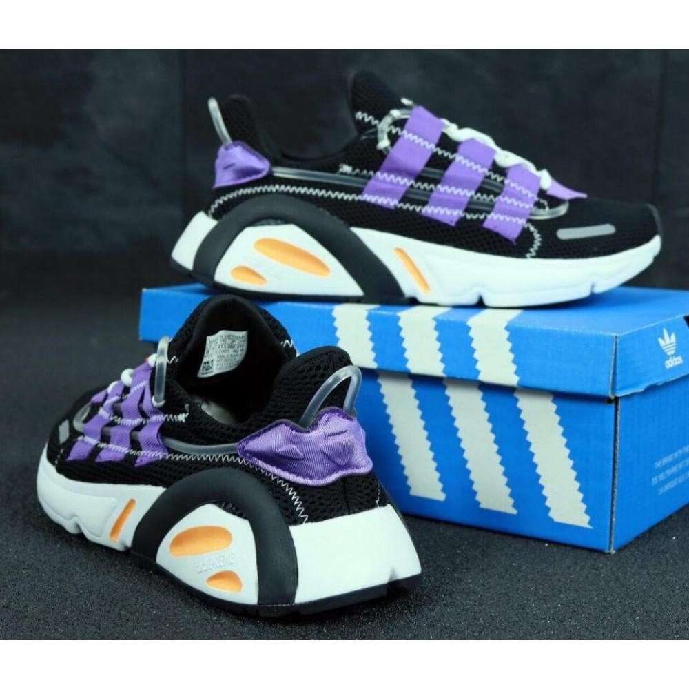 Летние кроссовки мужские - Мужские летние кроссовки Adidas Yeezy 600 Lexicon Black Blue 7