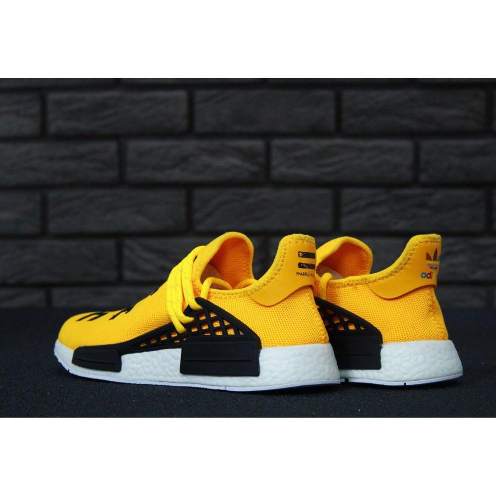 Беговые кроссовки мужские  - Кроссовки Adidas Nmd Human Race Men Yellow Black White 8