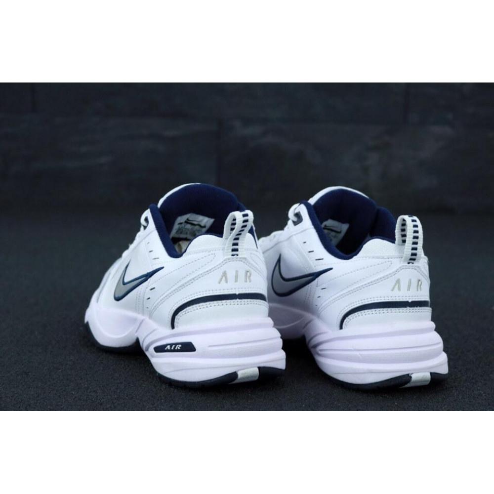Кожаные кроссовки мужские - Белые мужские кожаные кроссовки Найк Монарх 4 4