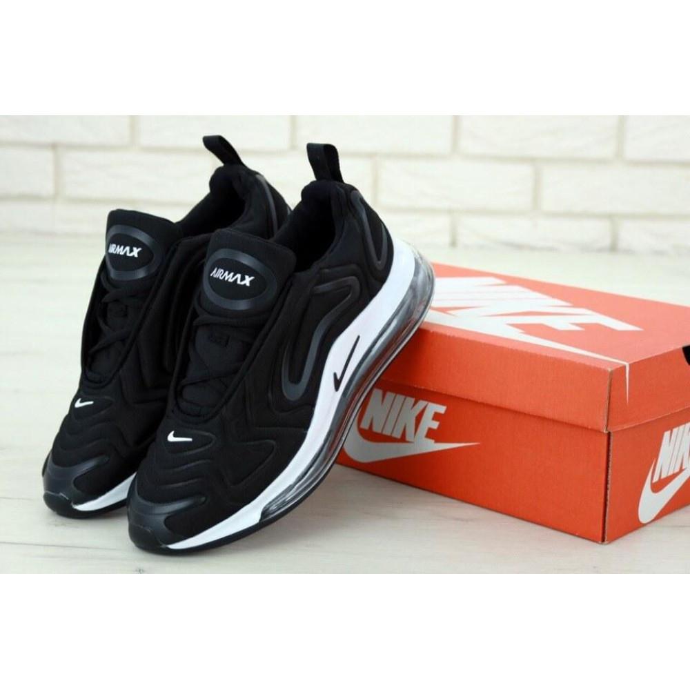 Классические кроссовки мужские - Мужские кроссовки Найк Аир Макс 720 Черно-Белые