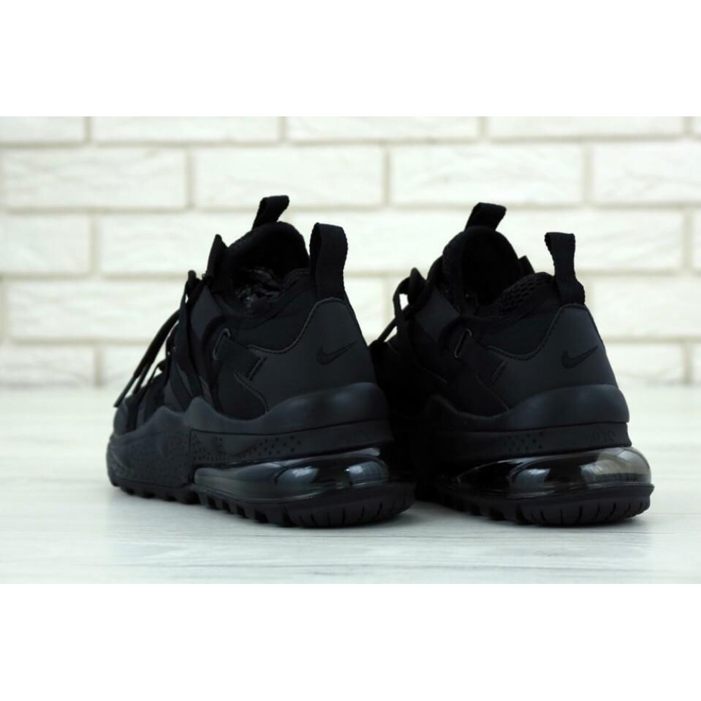 Беговые кроссовки мужские  - Кроссовки Air Max 270 Bowfin Triple Black 3