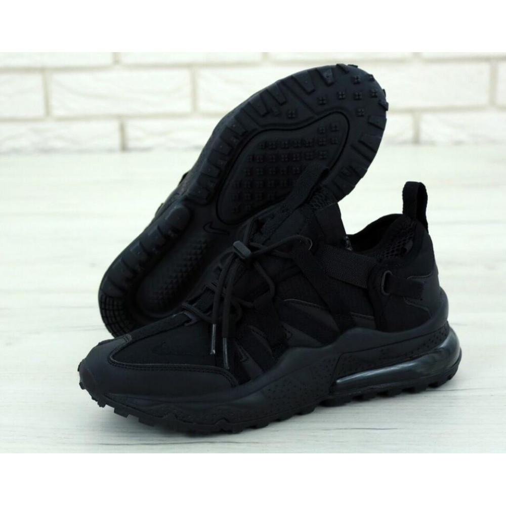Беговые кроссовки мужские  - Кроссовки Air Max 270 Bowfin Triple Black 1