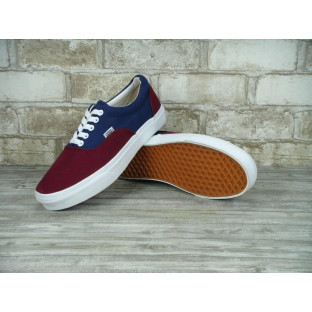 Кеды Vans Authentic Navy Red