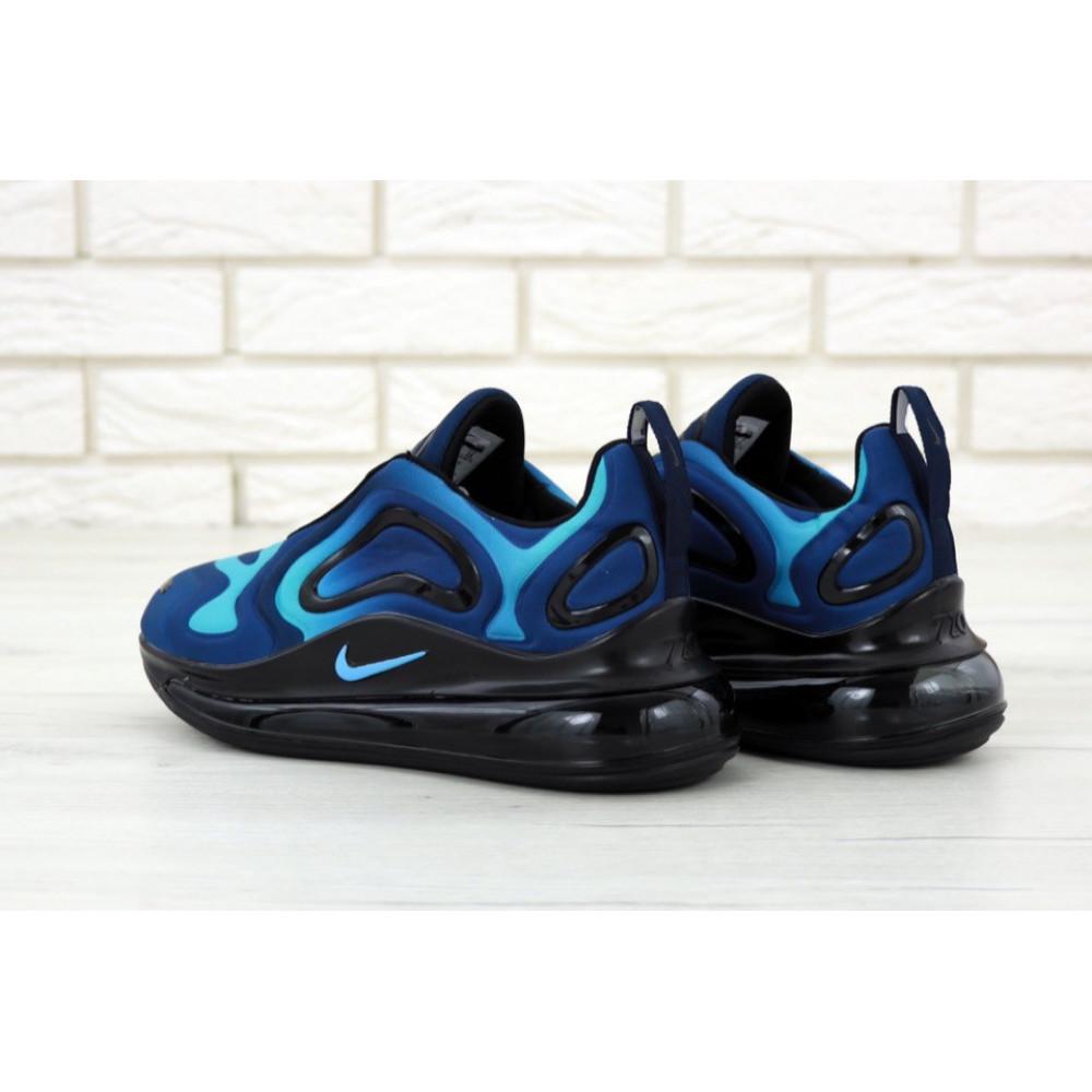 Демисезонные кроссовки мужские   - Мужские кроссовки Nike Air Max 720 818 в сером цвете 4