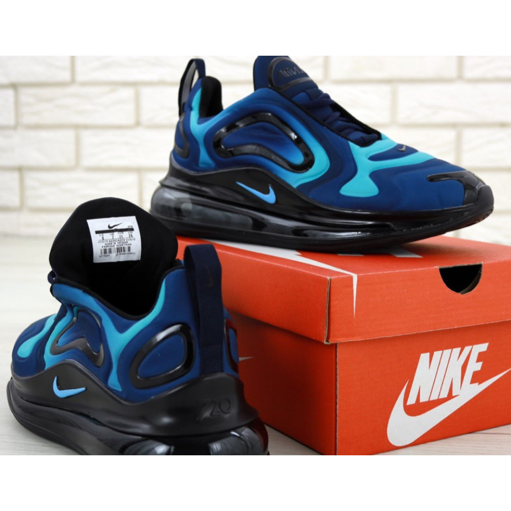 Демисезонные кроссовки мужские   - Мужские кроссовки Nike Air Max 720 818 в сером цвете 3