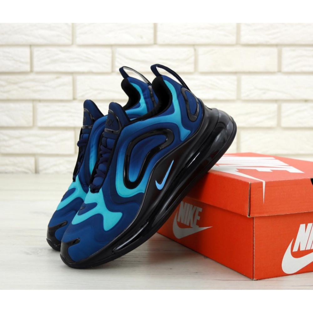 Демисезонные кроссовки мужские   - Мужские кроссовки Nike Air Max 720 818 в сером цвете