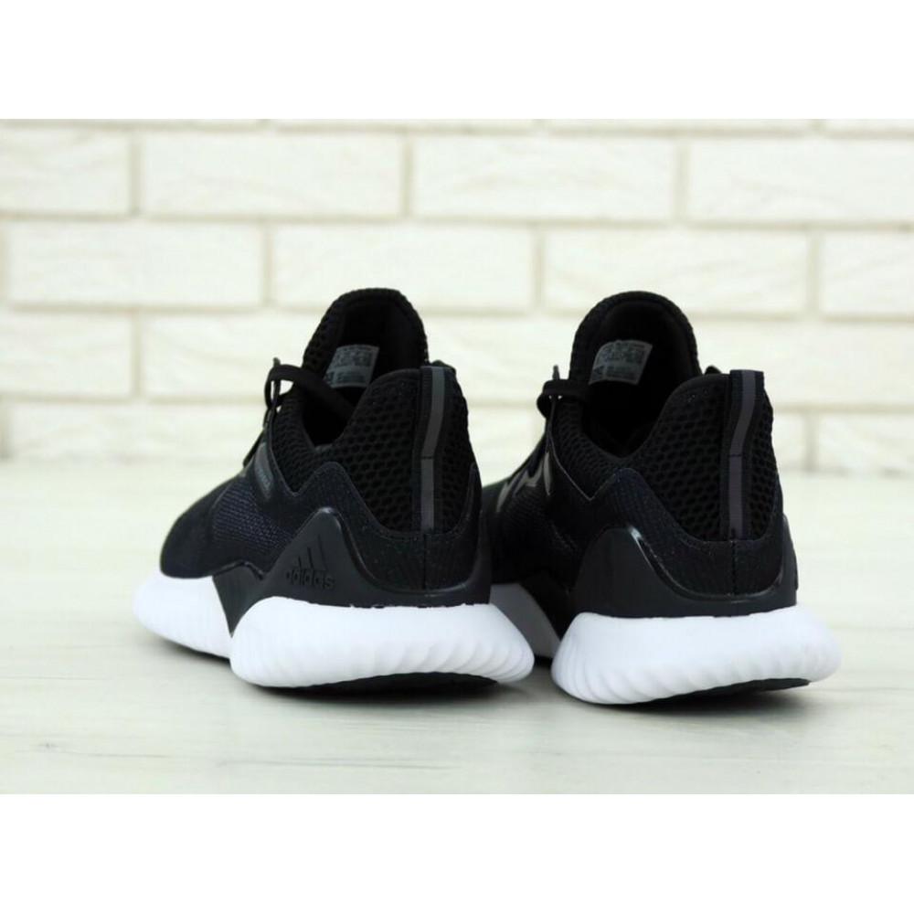 Классические кроссовки мужские - Кроссовки Adidas Alphabounce Beyond в черно-белом цвете 4