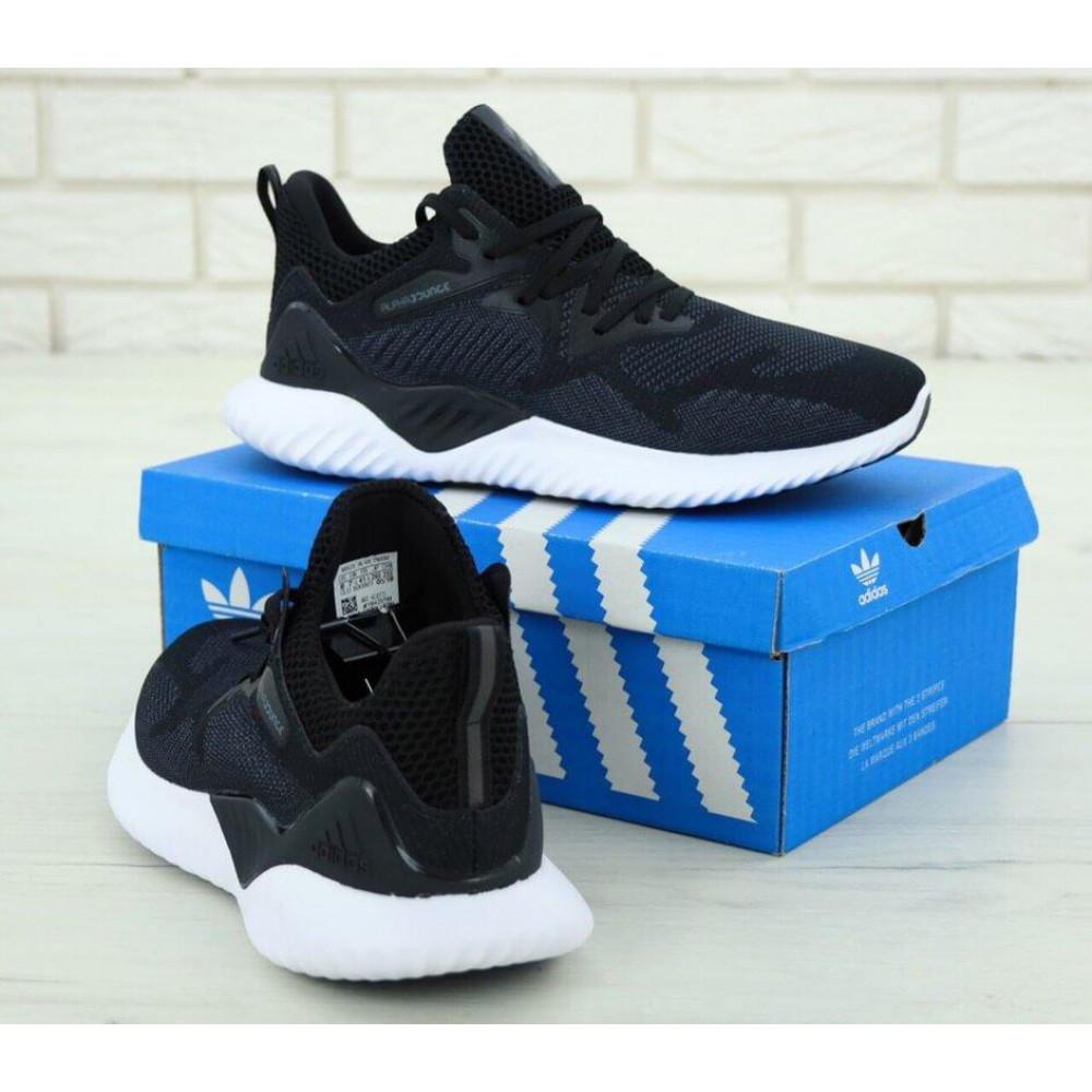 Классические кроссовки мужские - Кроссовки Adidas Alphabounce Beyond в черно-белом цвете 3