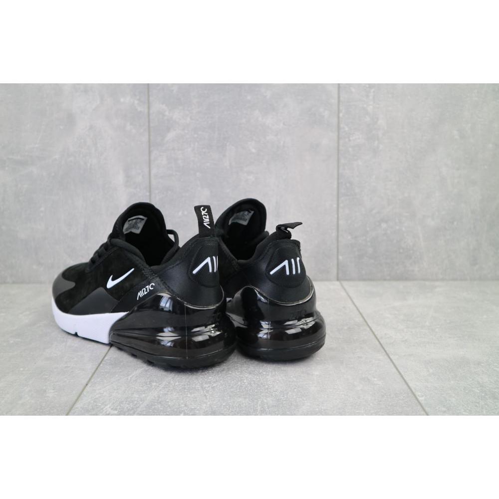 Классические кроссовки мужские - Мужские кроссовки искусственная замша весна/осень черные-белые Classica (5121 -5) 2