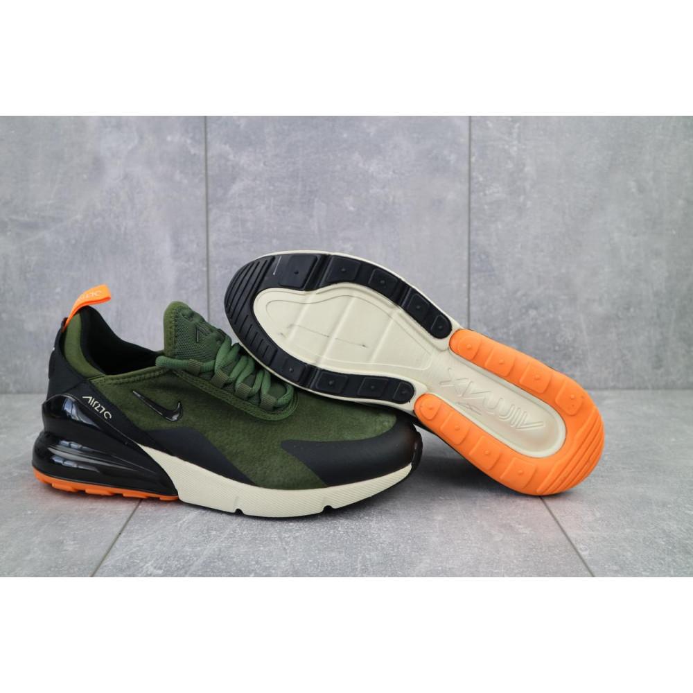 Классические кроссовки мужские - Мужские кроссовки искусственная замша весна/осень хаки Classica (5121 -2) 4