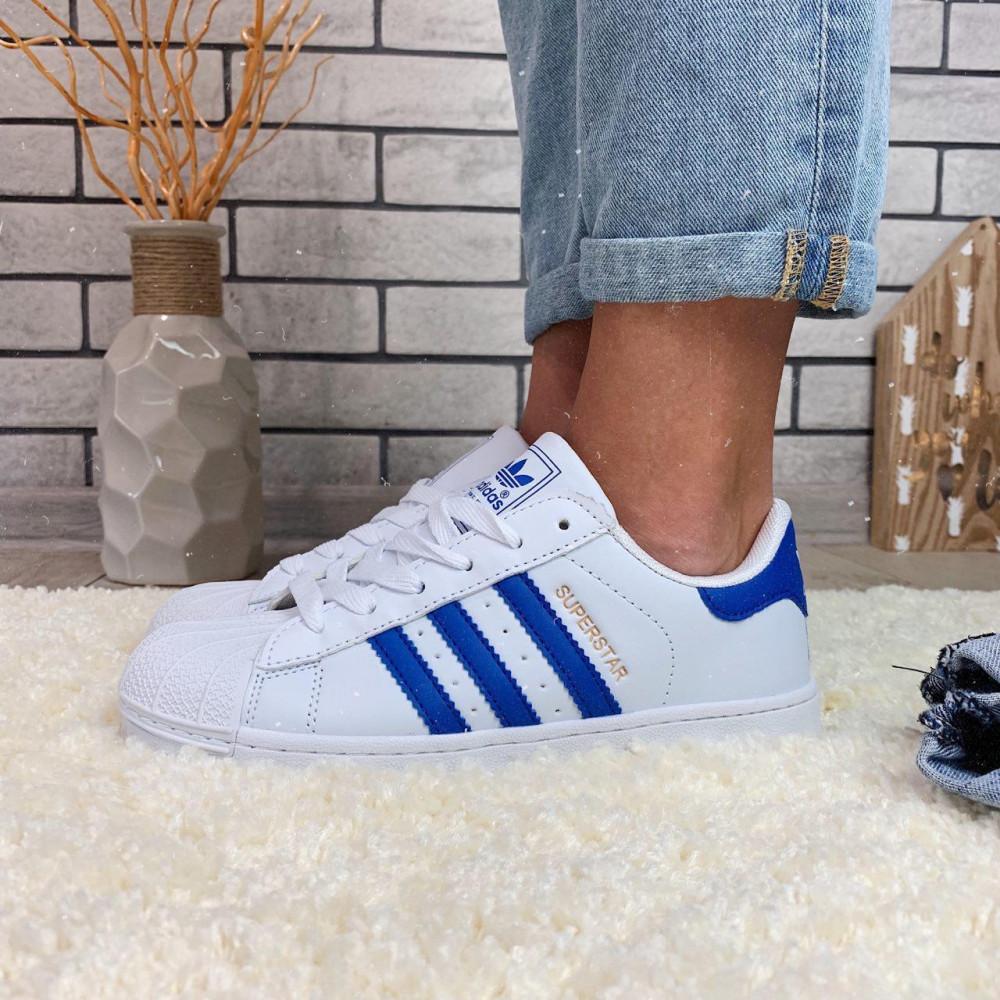 Женские кроссовки классические  - Кроссовки женские Adidas Superstar  00034 ⏩ [ 38 последний размер ] 2