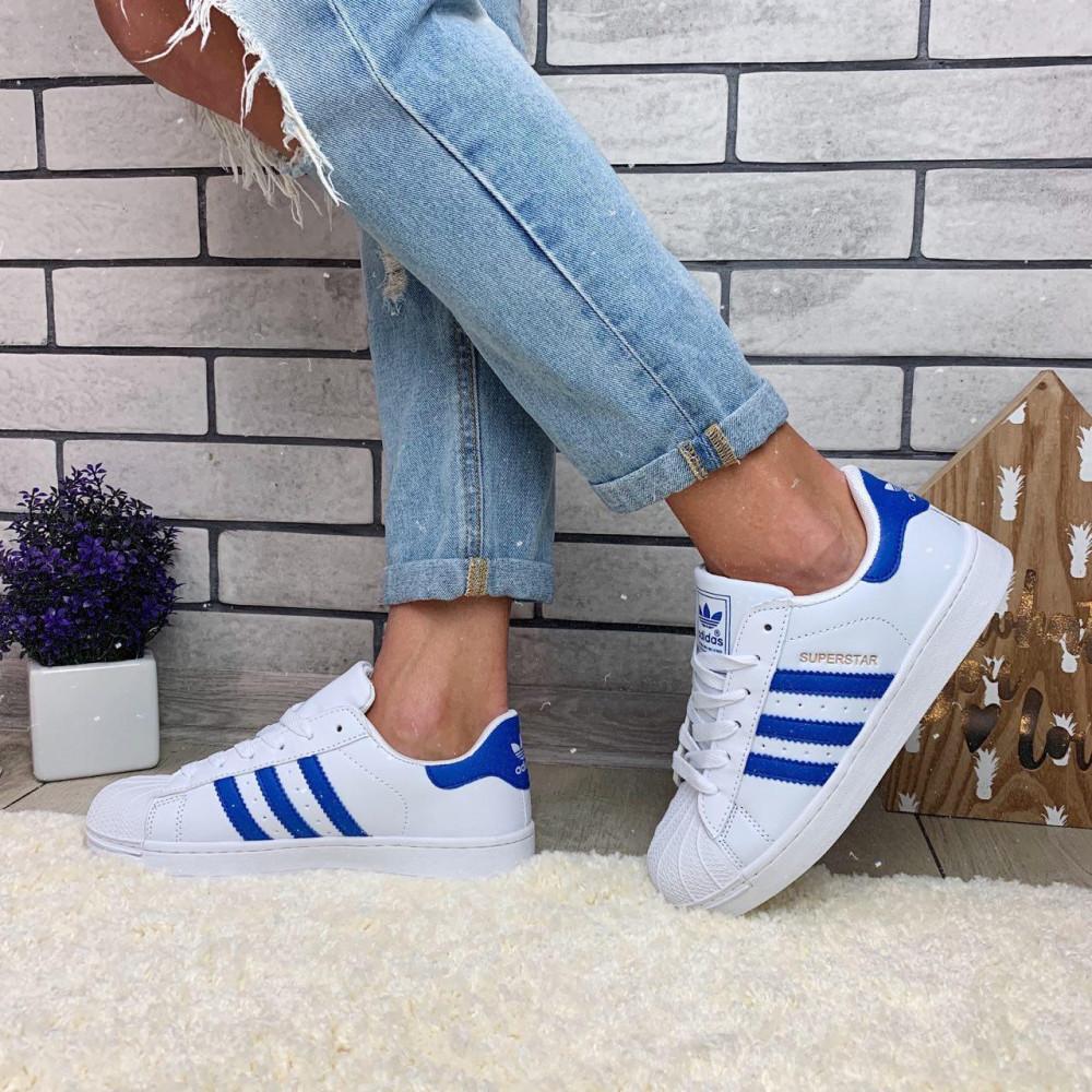 Женские кроссовки классические  - Кроссовки женские Adidas Superstar  00034 ⏩ [ 38 последний размер ] 6