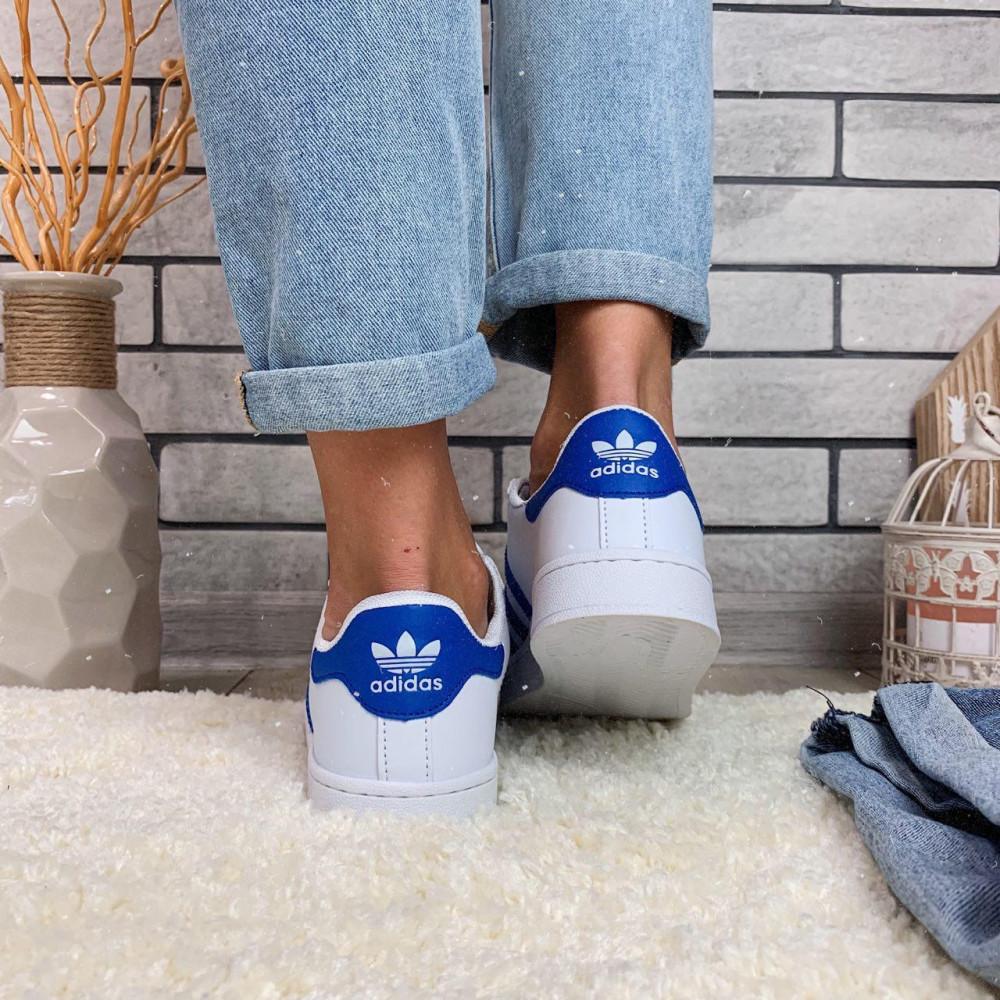 Женские кроссовки классические  - Кроссовки женские Adidas Superstar  00034 ⏩ [ 38 последний размер ] 1