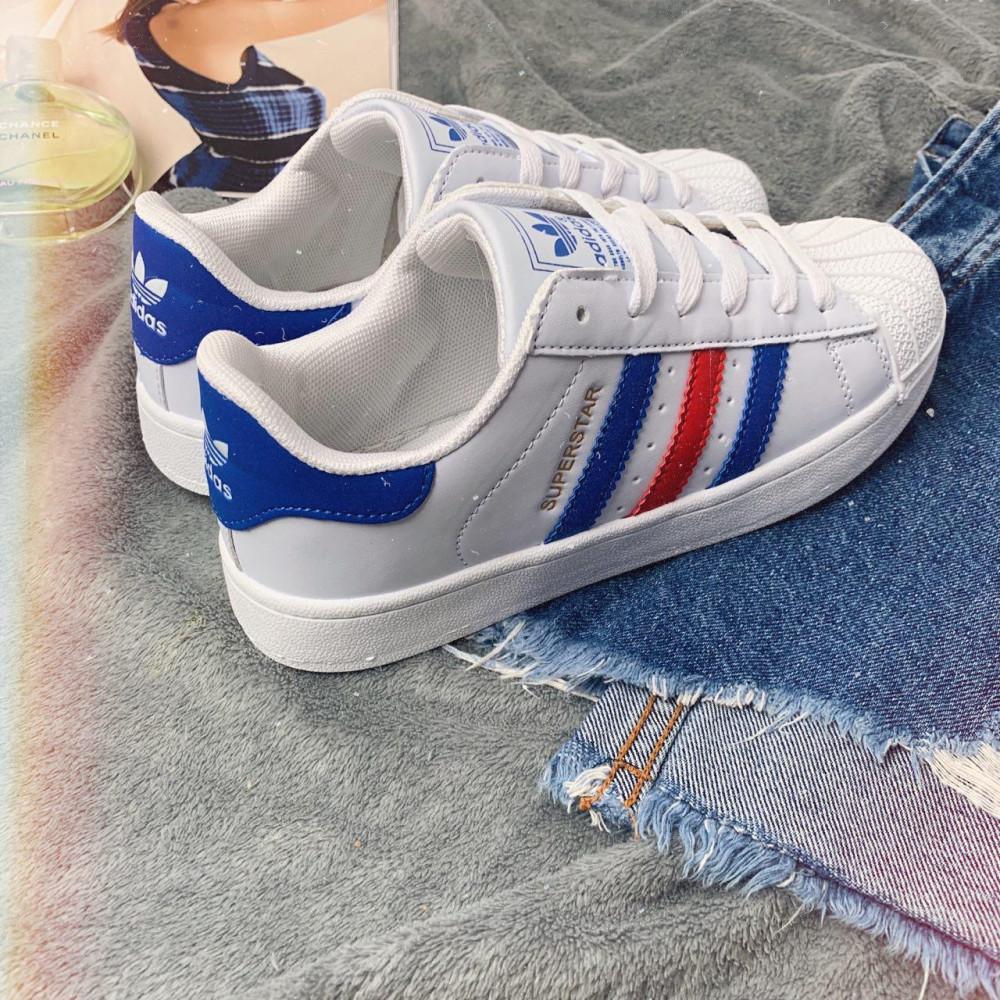 Женские кроссовки классические  - Кроссовки женские Adidas Superstar 00020 ⏩ [ 36.39 ] 6