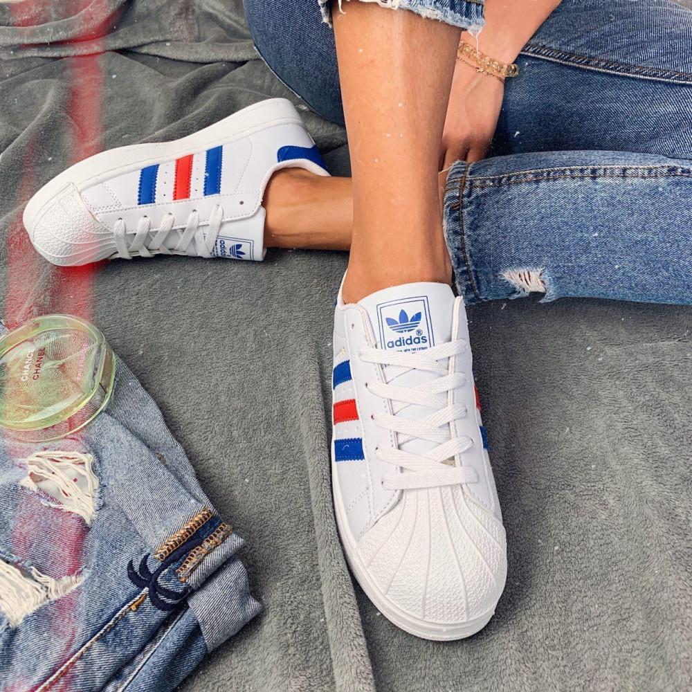 Женские кроссовки классические  - Кроссовки женские Adidas Superstar 00020 ⏩ [ 36.39 ] 2