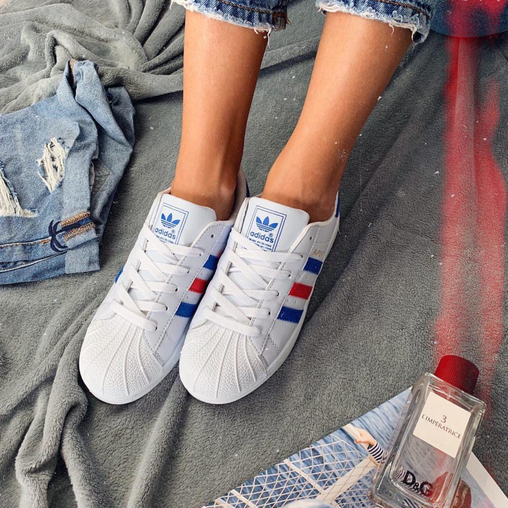 Женские кроссовки классические  - Кроссовки женские Adidas Superstar 00020 ⏩ [ 36.39 ] 1
