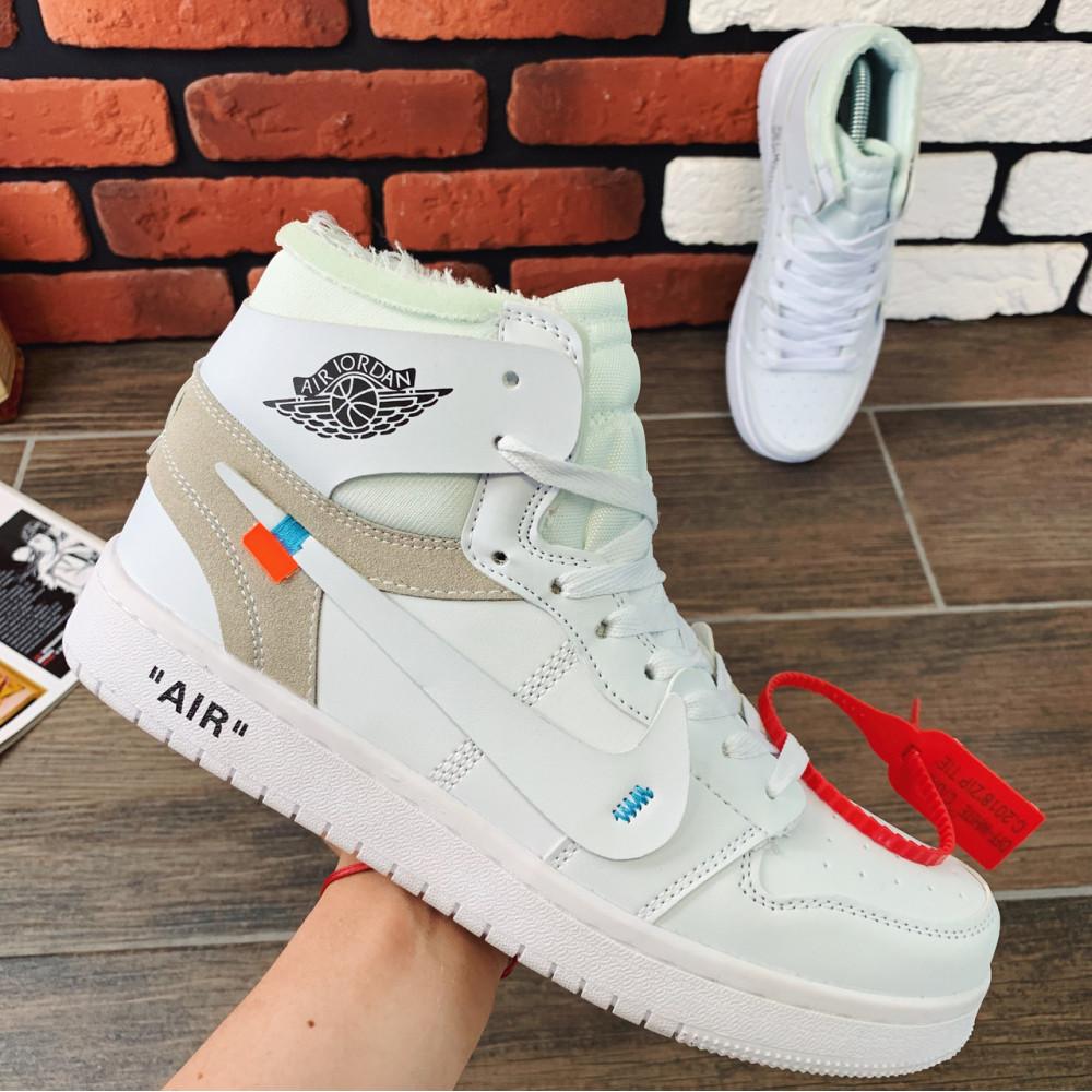 Демисезонные кроссовки мужские   - Кроссовки мужские Nike Air Jordan x OFF-White  00039 ⏩ [ 40.41.42.43 ]