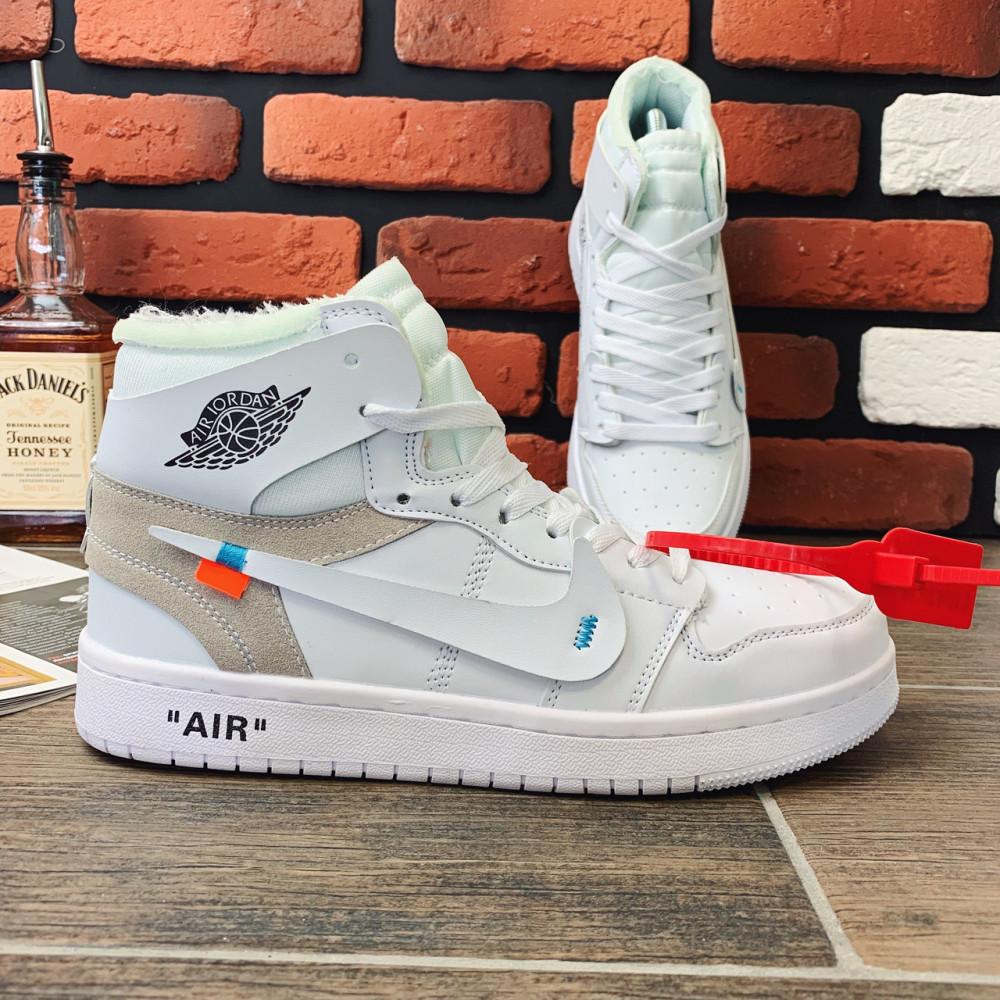 Демисезонные кроссовки мужские   - Кроссовки мужские Nike Air Jordan x OFF-White  00039 ⏩ [ 40.41.42.43 ] 3