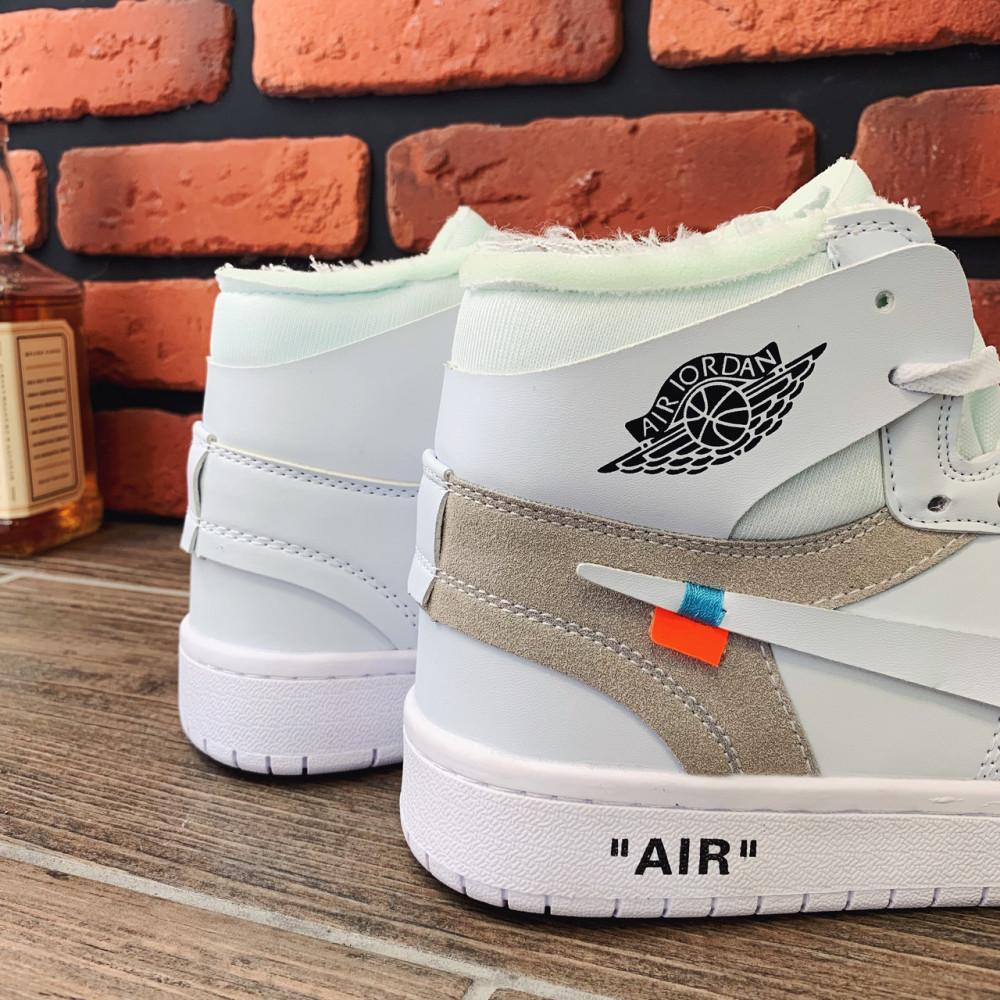 Демисезонные кроссовки мужские   - Кроссовки мужские Nike Air Jordan x OFF-White  00039 ⏩ [ 40.41.42.43 ] 2
