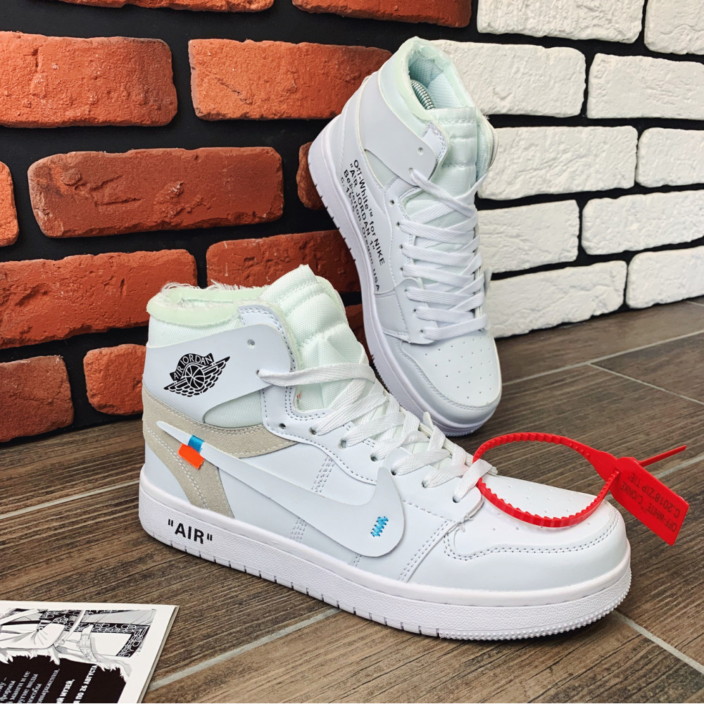 Демисезонные кроссовки мужские   - Кроссовки мужские Nike Air Jordan x OFF-White  00039 ⏩ [ 40.41.42.43 ] 5