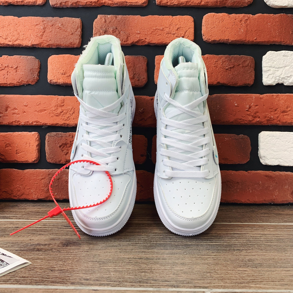 Демисезонные кроссовки мужские   - Кроссовки мужские Nike Air Jordan x OFF-White  00039 ⏩ [ 40.41.42.43 ] 6